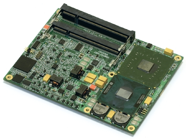 CPC1301 PICMG COM Express Type II Module based on Intel® Core® 2 Duo (EOL)