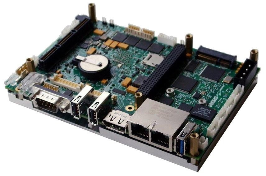"CPB909 Intel Atom E38xx-based SBC with StackPC Expansion Connector in 3.5"" Form-Factor"