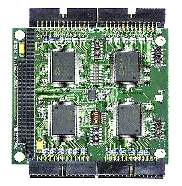 UNIOxx-5  Programmable I/O Card, PC/104 format